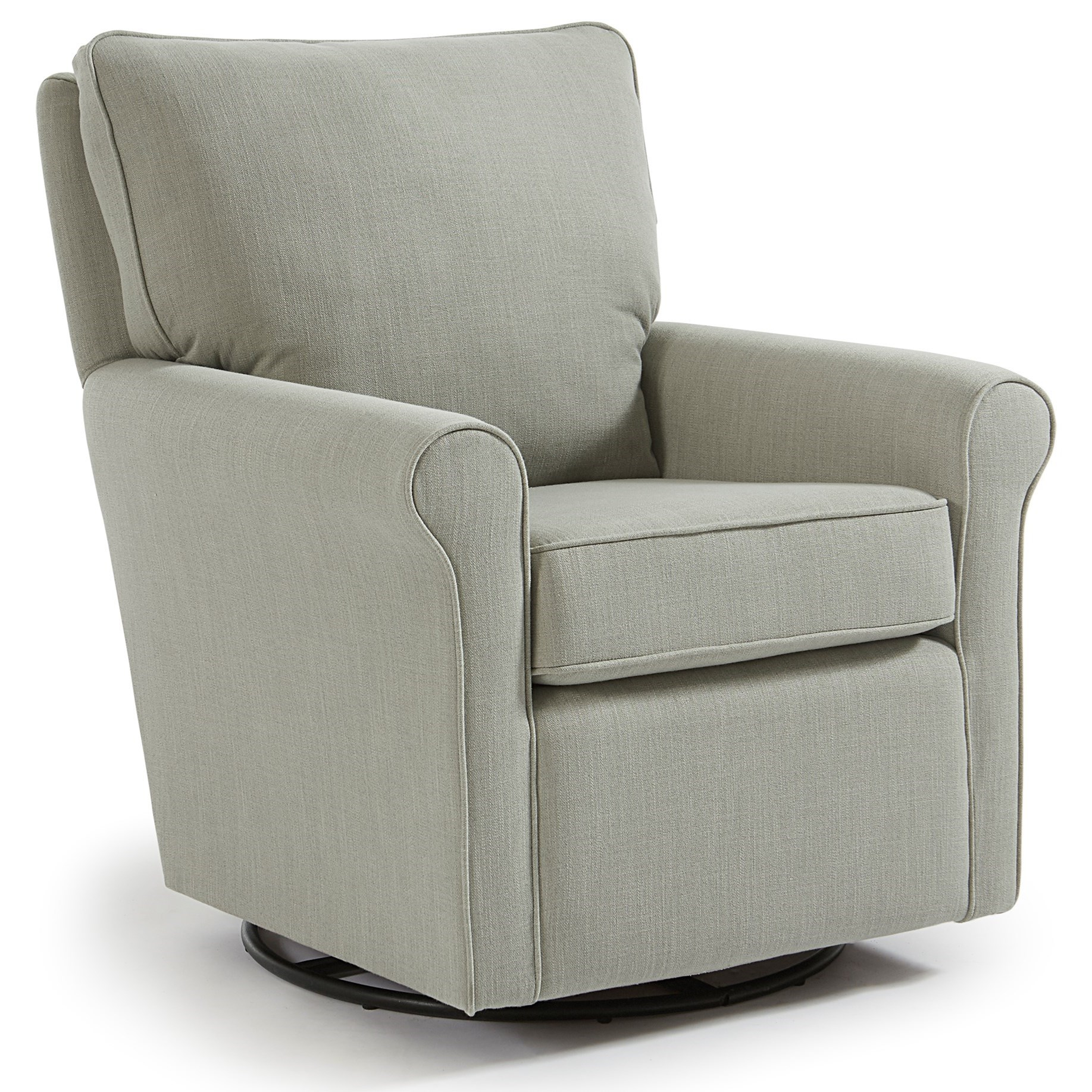 Kacey Swivel Glider Chair by Best Home Furnishings at Johnny Janosik