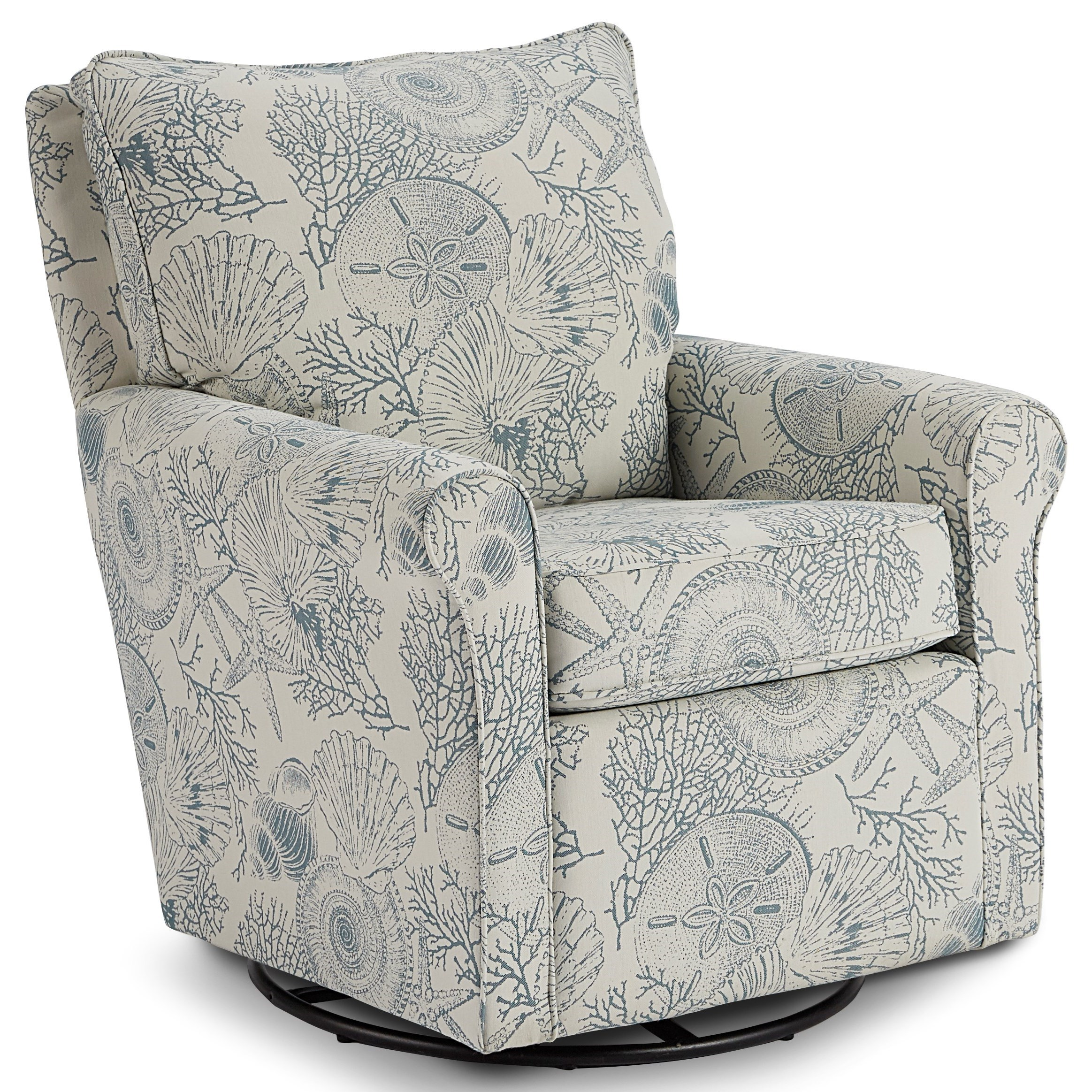 Kacey Swivel Glider Chair by Best Home Furnishings at Baer's Furniture