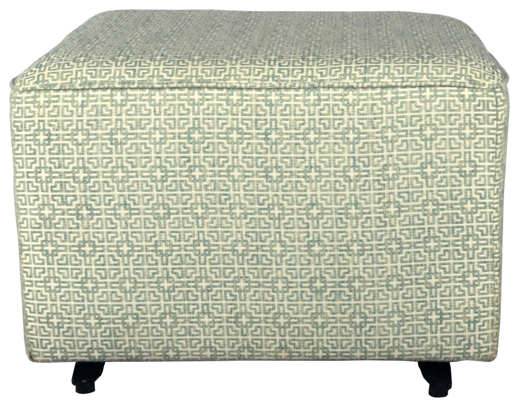 Kacey Ottoman W/ Glider Base by Bravo Furniture at Bennett's Furniture and Mattresses