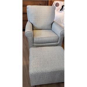 Swivel Glider Chair & Ottoman