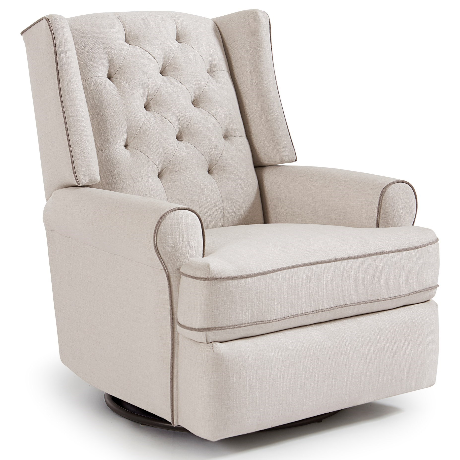 Kendra Power Swivel Glider Recliner by Best Home Furnishings at Baer's Furniture