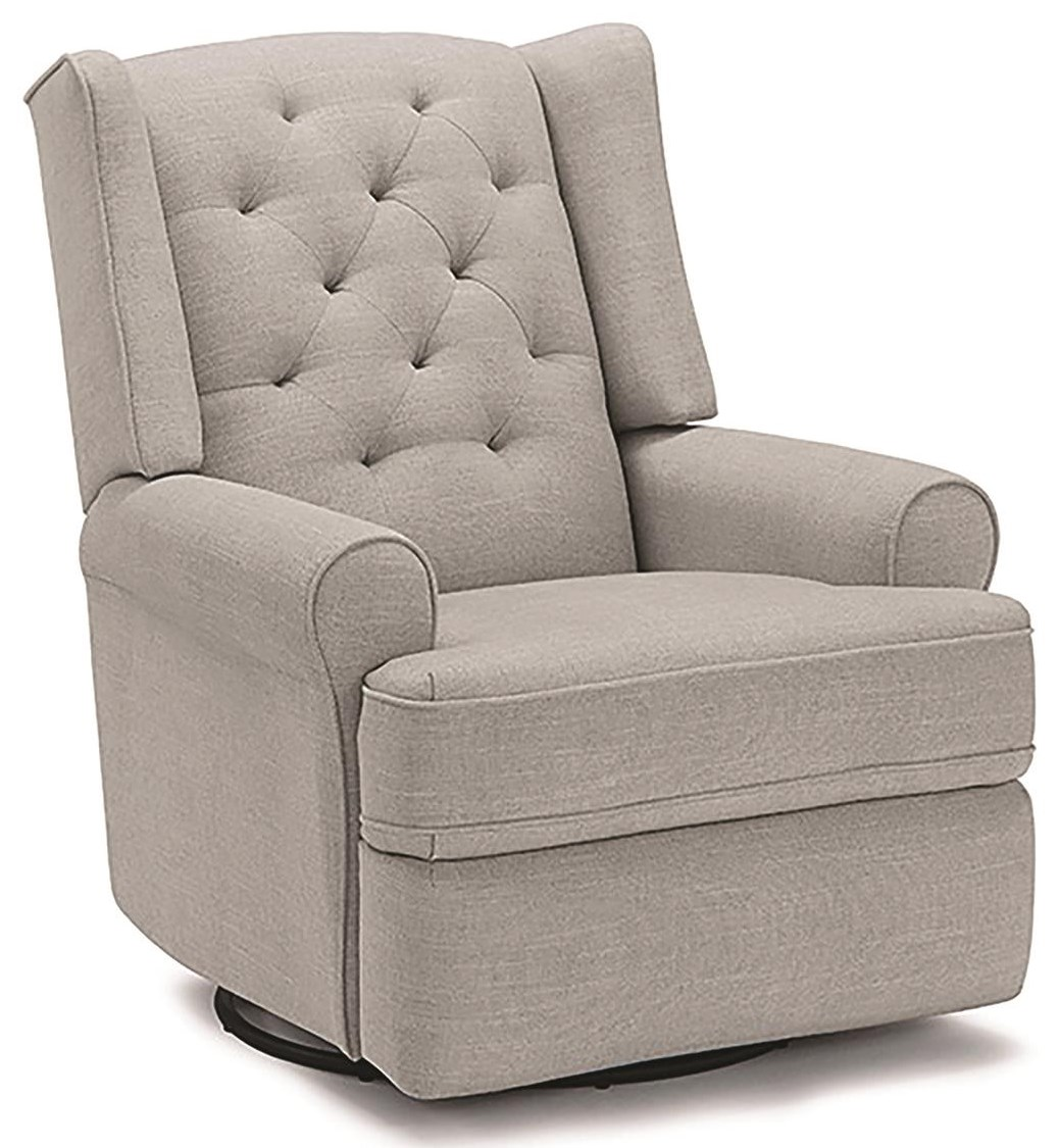 Kendra Swivel Glider Recliner by Best Home Furnishings at Darvin Furniture
