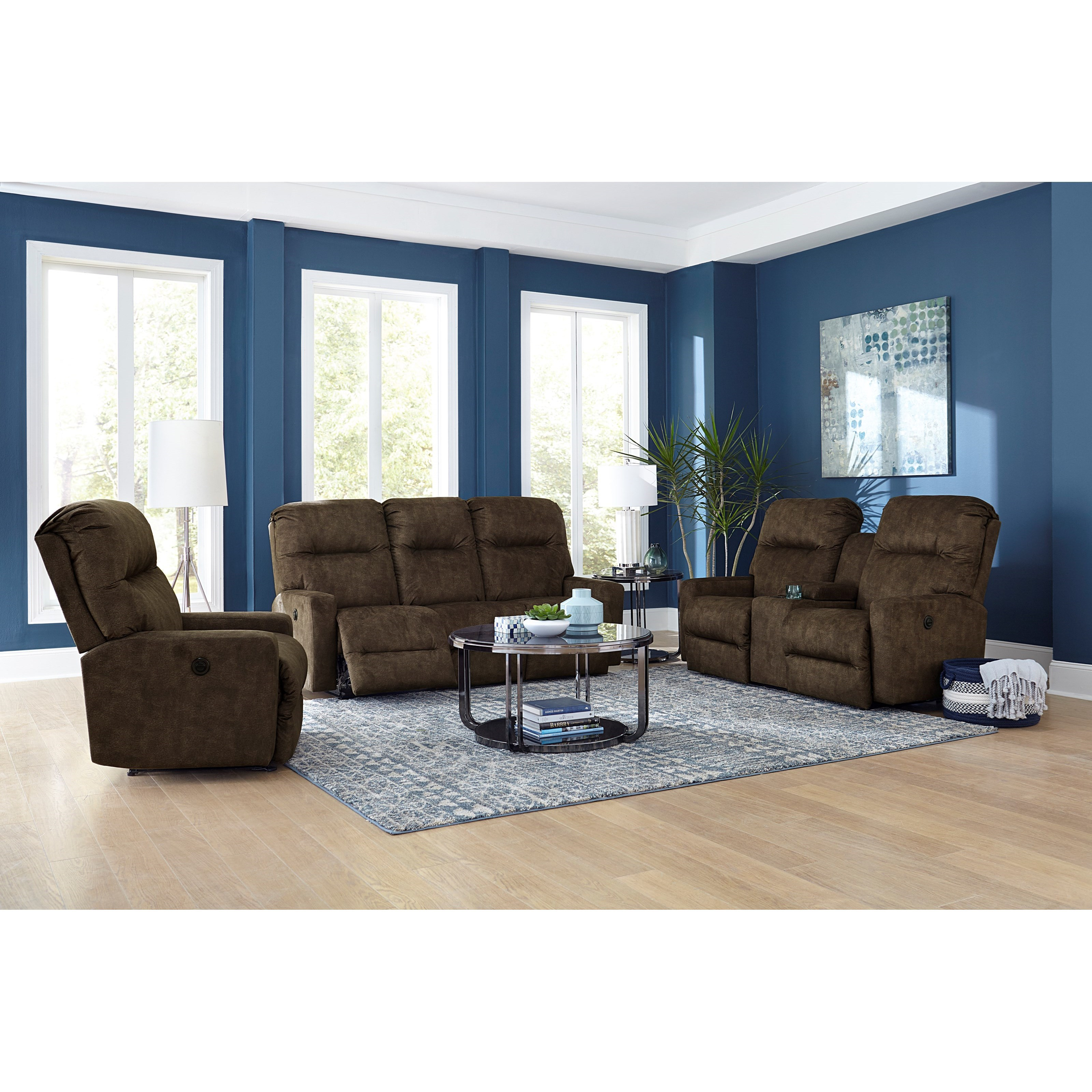 Kenley Power Reclining Living Room Group by Best Home Furnishings at Baer's Furniture