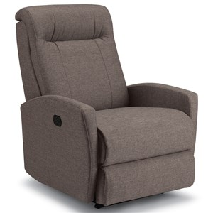 Small Scale Power Rocker Recliner with Power Tilt Headrest and USB Charging Port