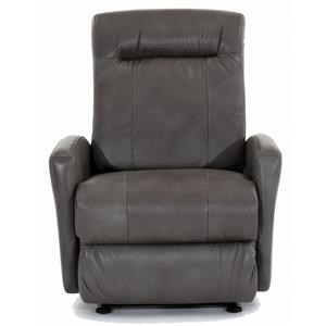 Small Scale Power Wall Saver Recliner with Power Tilt Headrest and USB Charging Port