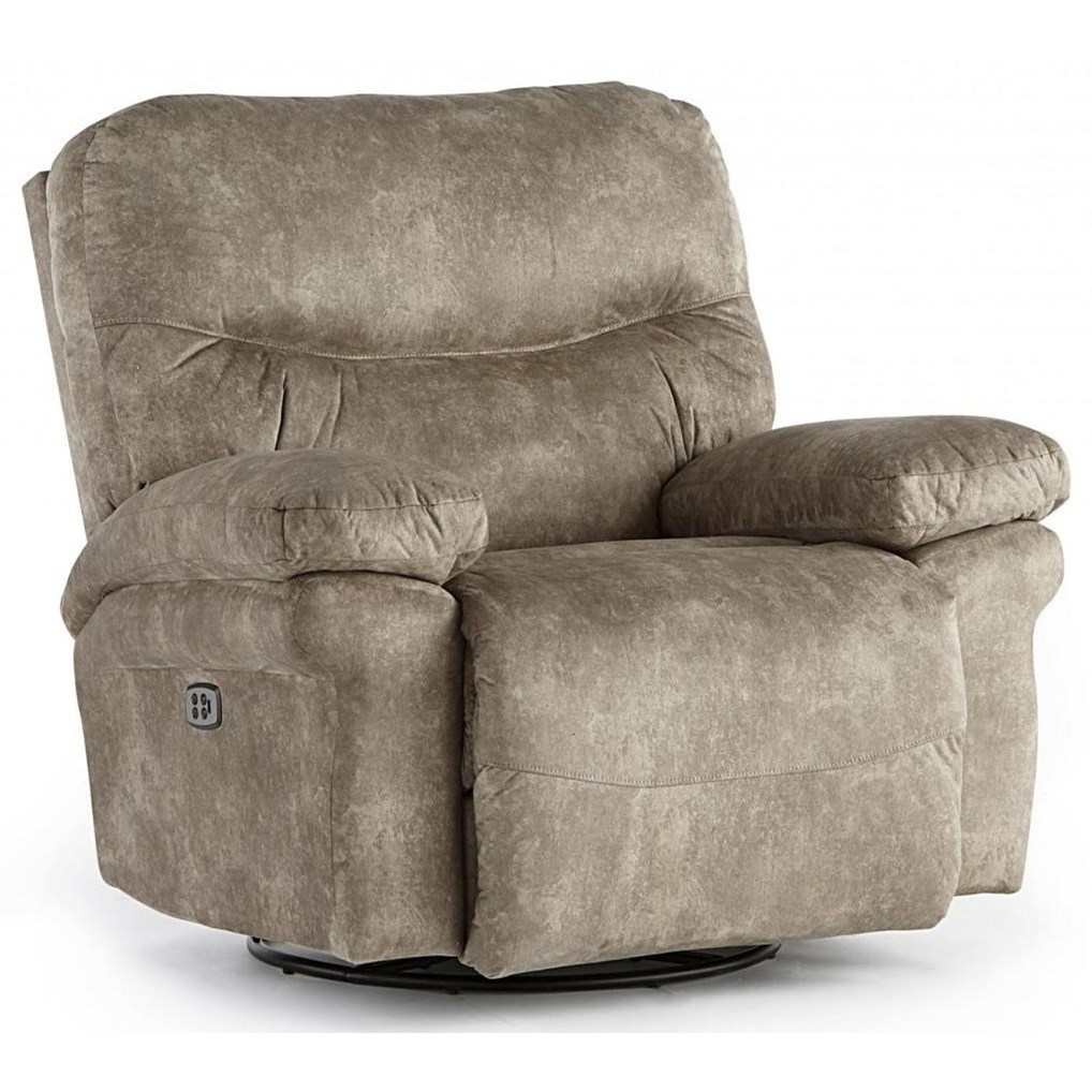 Leya Power Space Saver Recliner by Best Home Furnishings at Saugerties Furniture Mart
