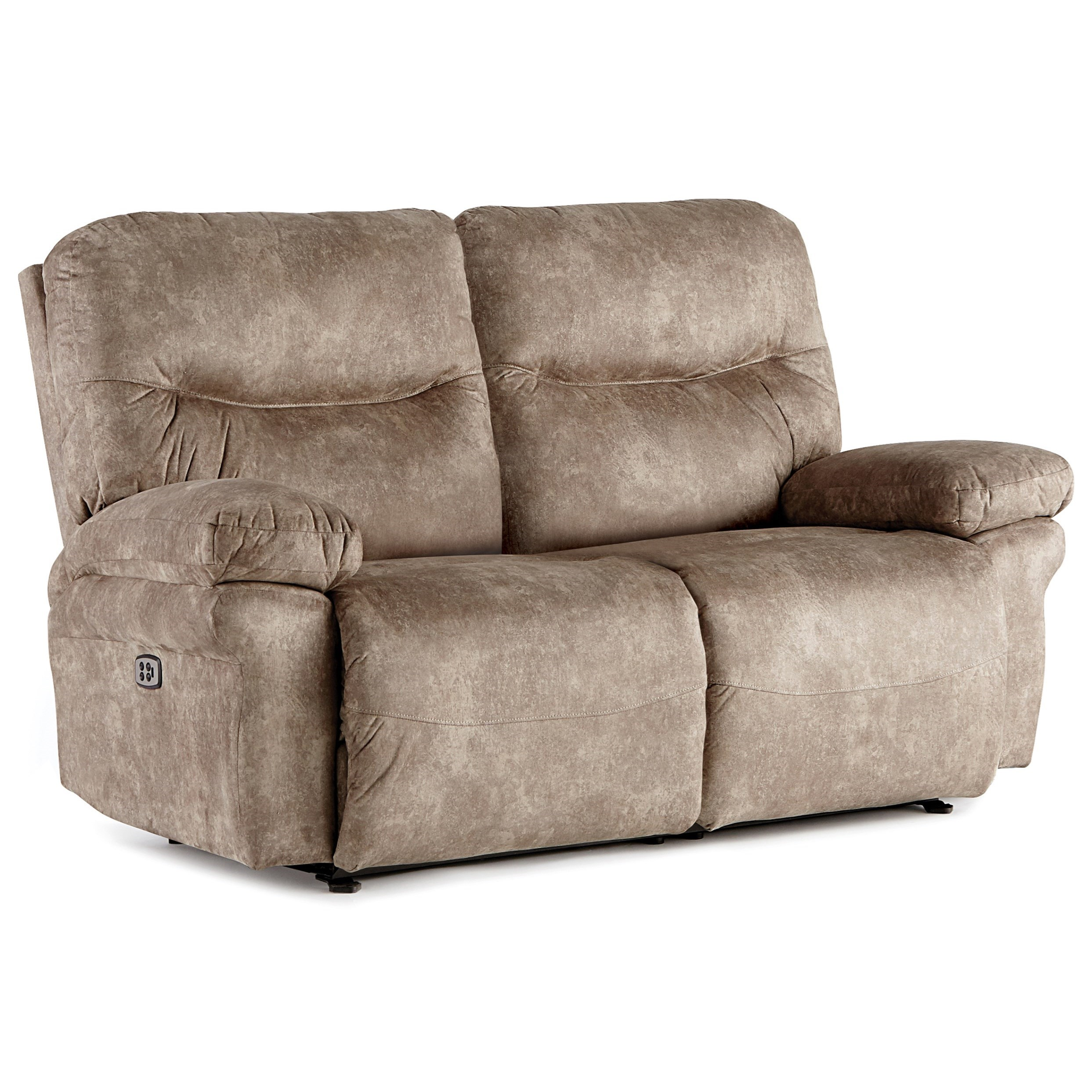 Leya Manual Space Saver Reclining Loveseat by Best Home Furnishings at Baer's Furniture
