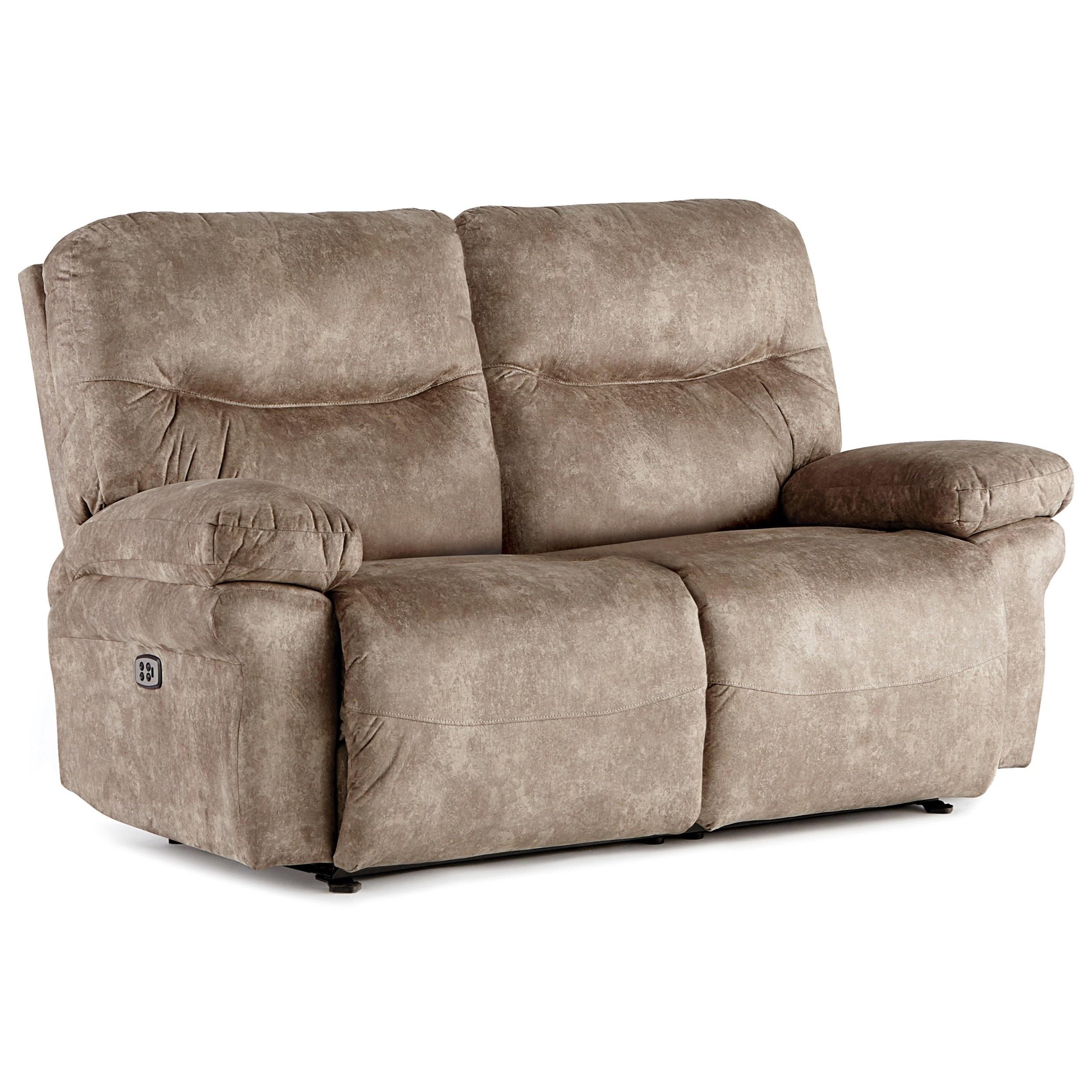 Leya Power Space Saver Loveseat w/ Tilt Headrest by Best Home Furnishings at Baer's Furniture