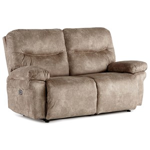 Power Reclining Space Saver Loveseat
