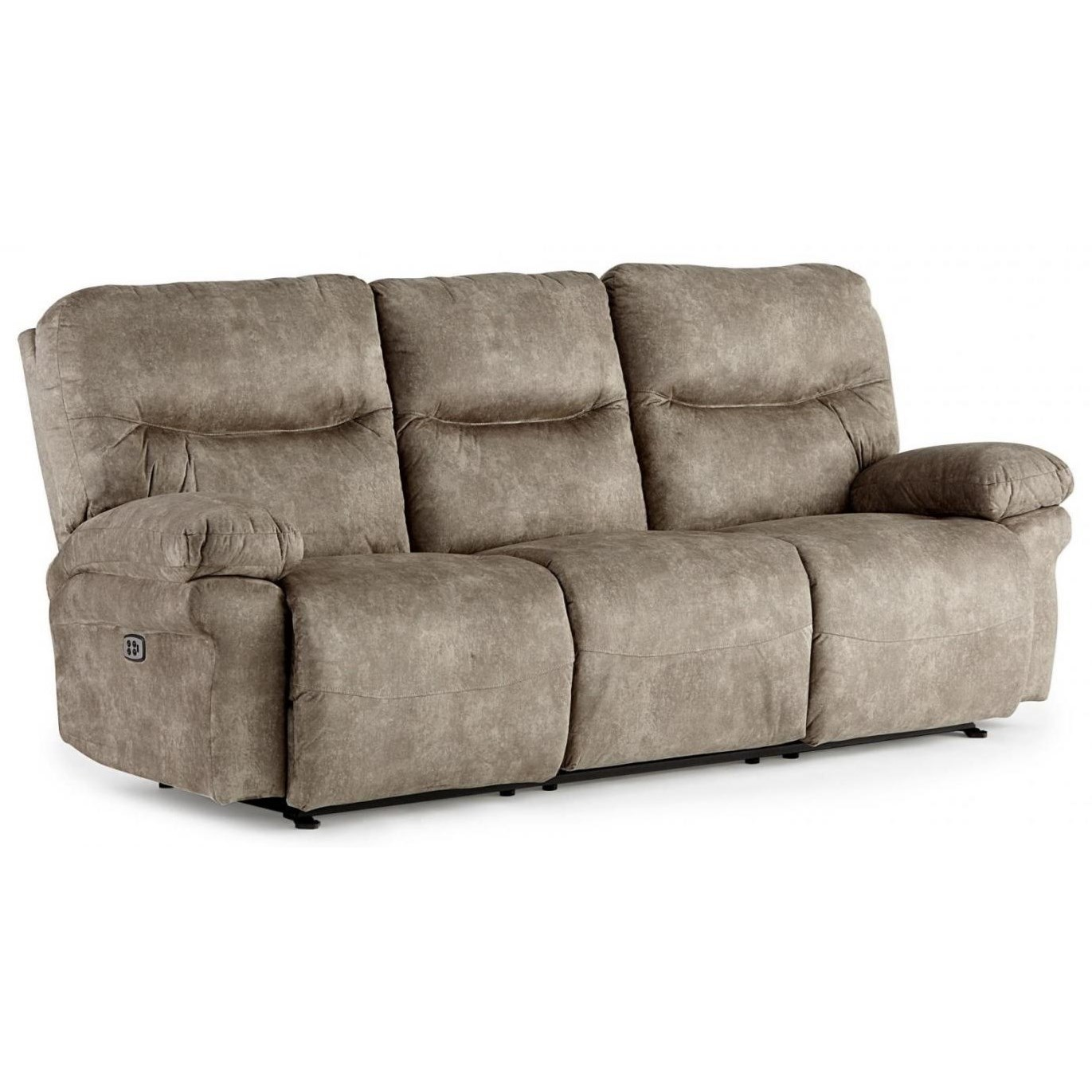 Leya Power Space Saver Sofa with Tilt Headrest by Best Home Furnishings at Baer's Furniture