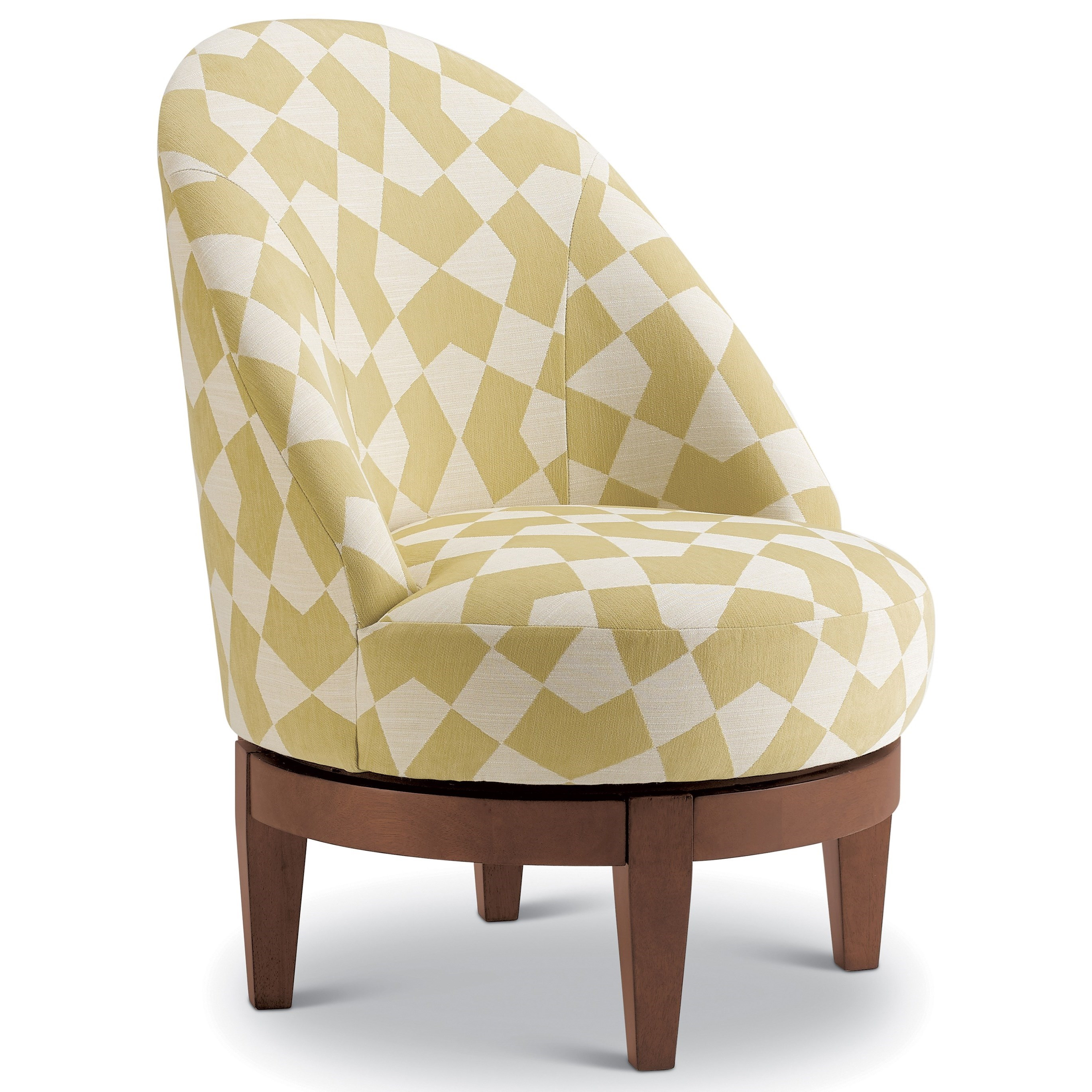 Loflin Swivel Barrel Chair by Best Home Furnishings at Baer's Furniture