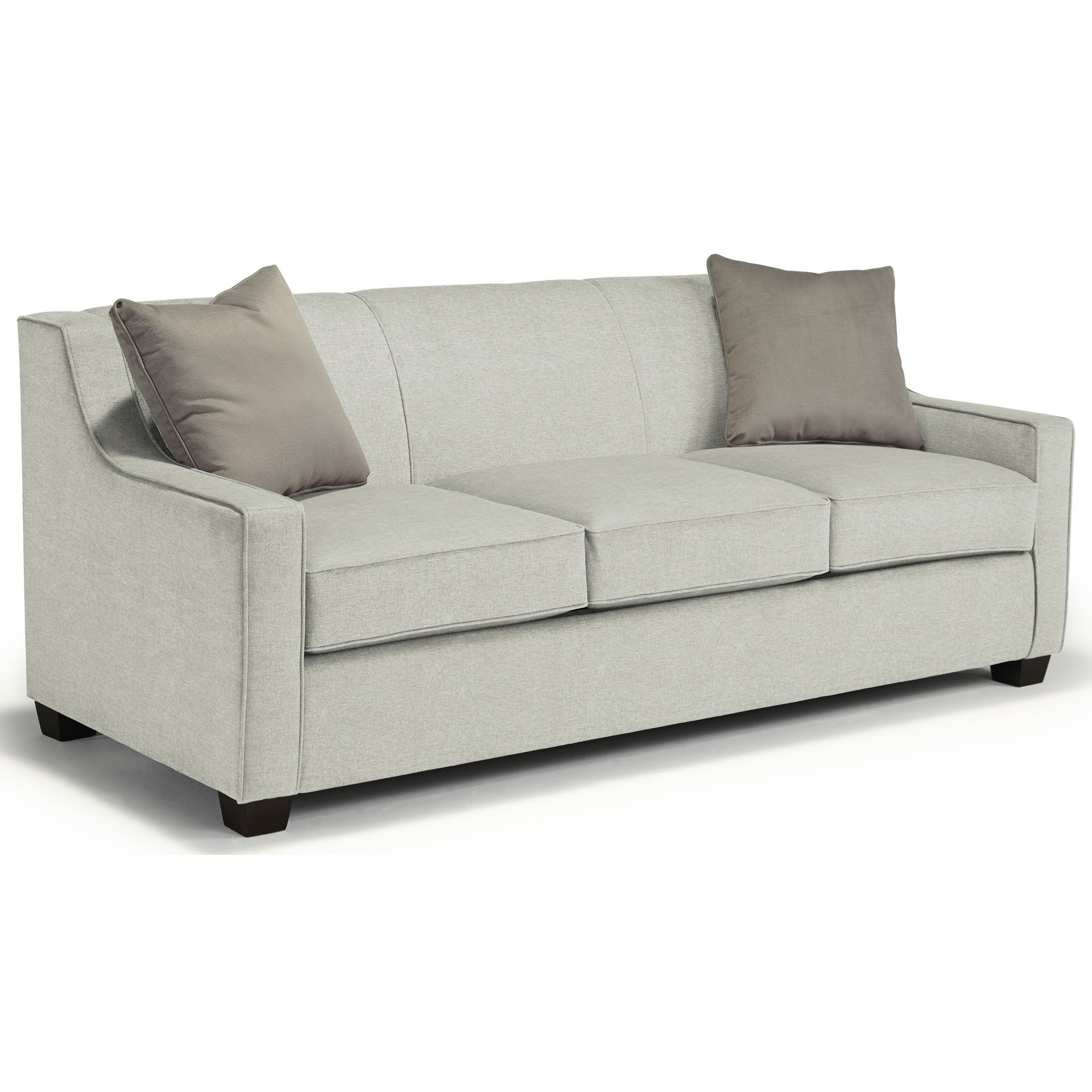 Marinette Queen Sleeper by Best Home Furnishings at Wilcox Furniture