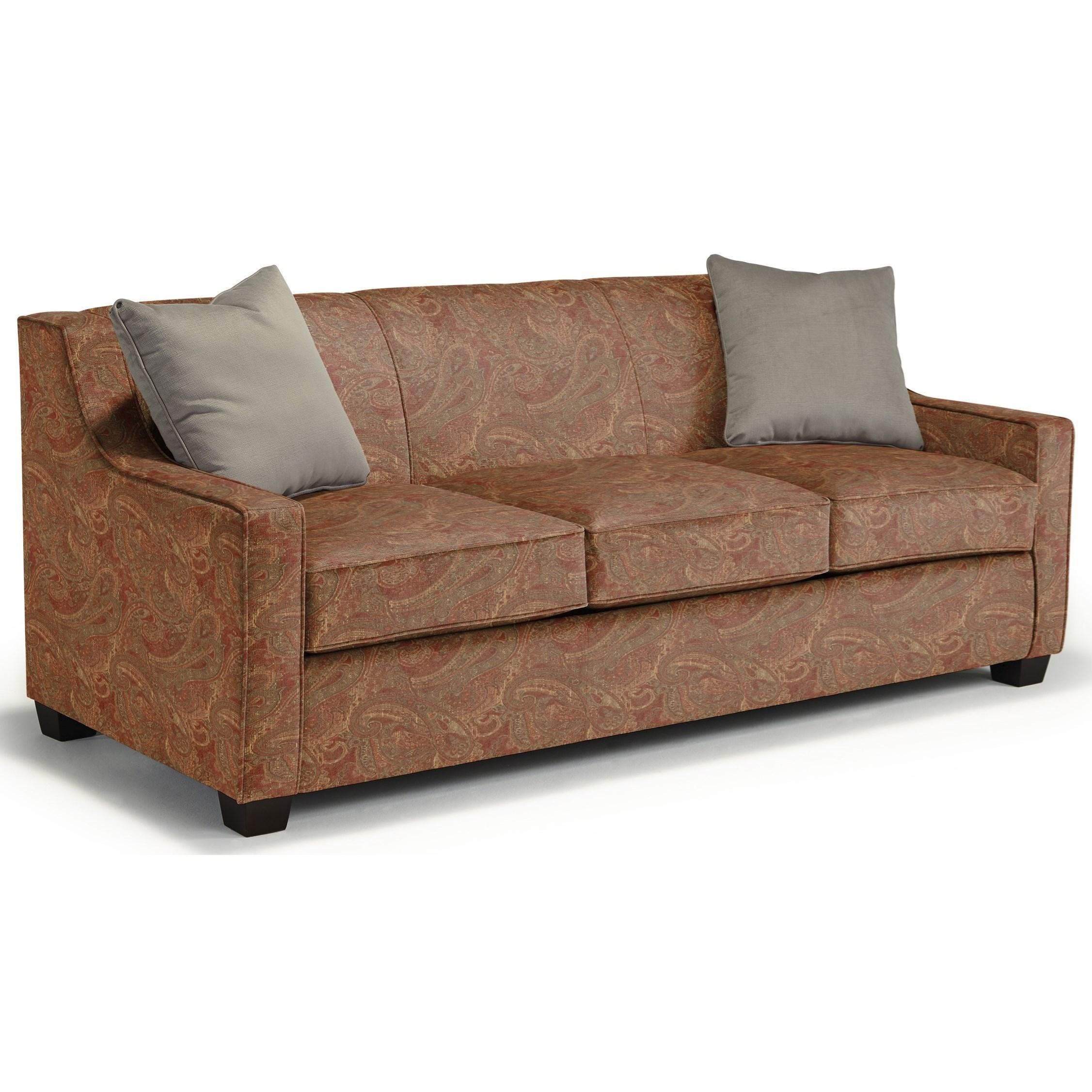 Marinette Queen Sleeper by Best Home Furnishings at Best Home Furnishings