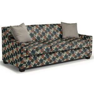 Queen-Sized Air Dream Sleeper with Toss Pillows