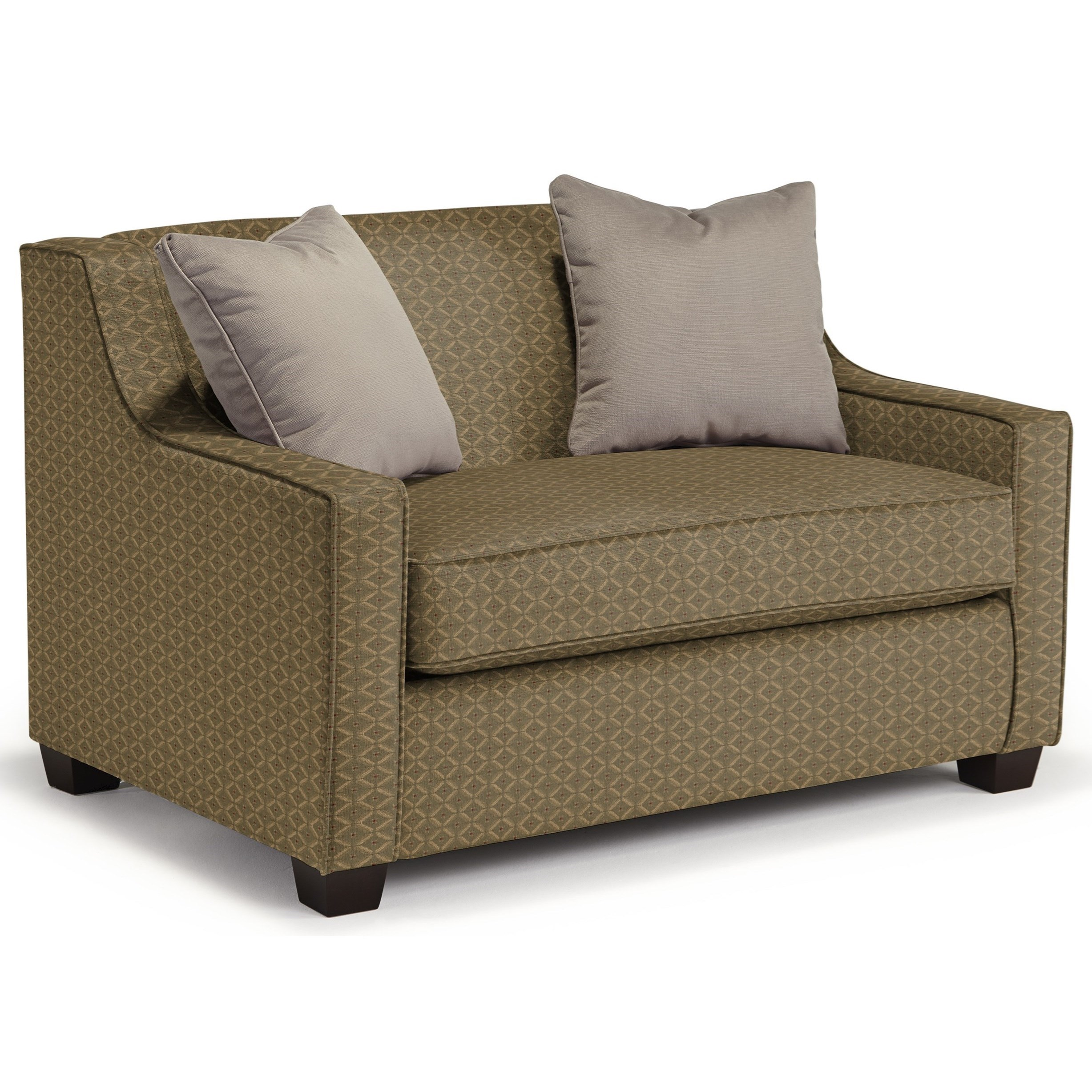 Marinette Twin Sleeper Chair by Best Home Furnishings at Lapeer Furniture & Mattress Center