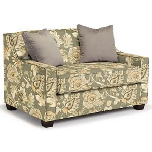 Twin-Size Air Dream Sleeper Chair with Toss Pillows