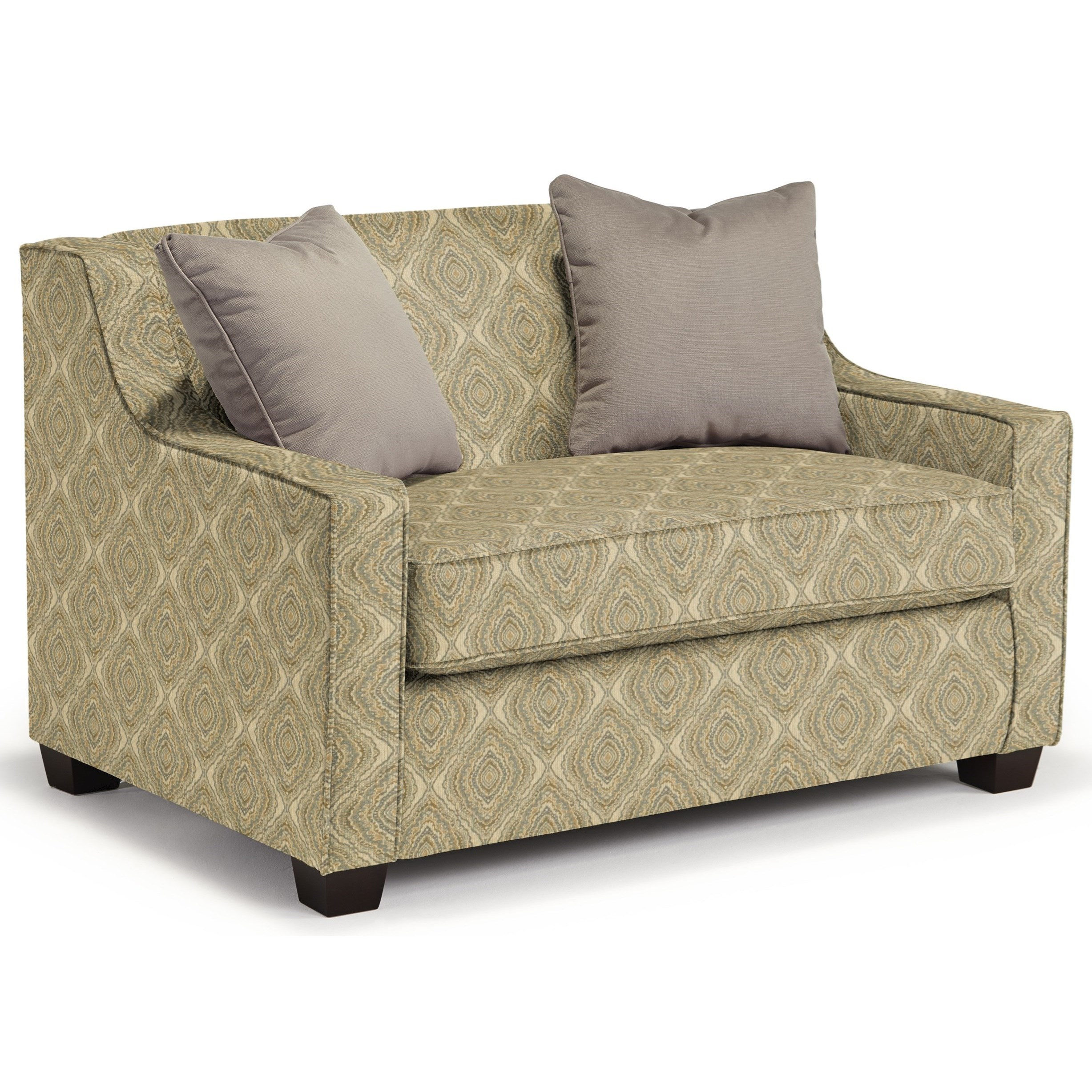 Marinette Twin Sleeper Chair by Best Home Furnishings at Lucas Furniture & Mattress
