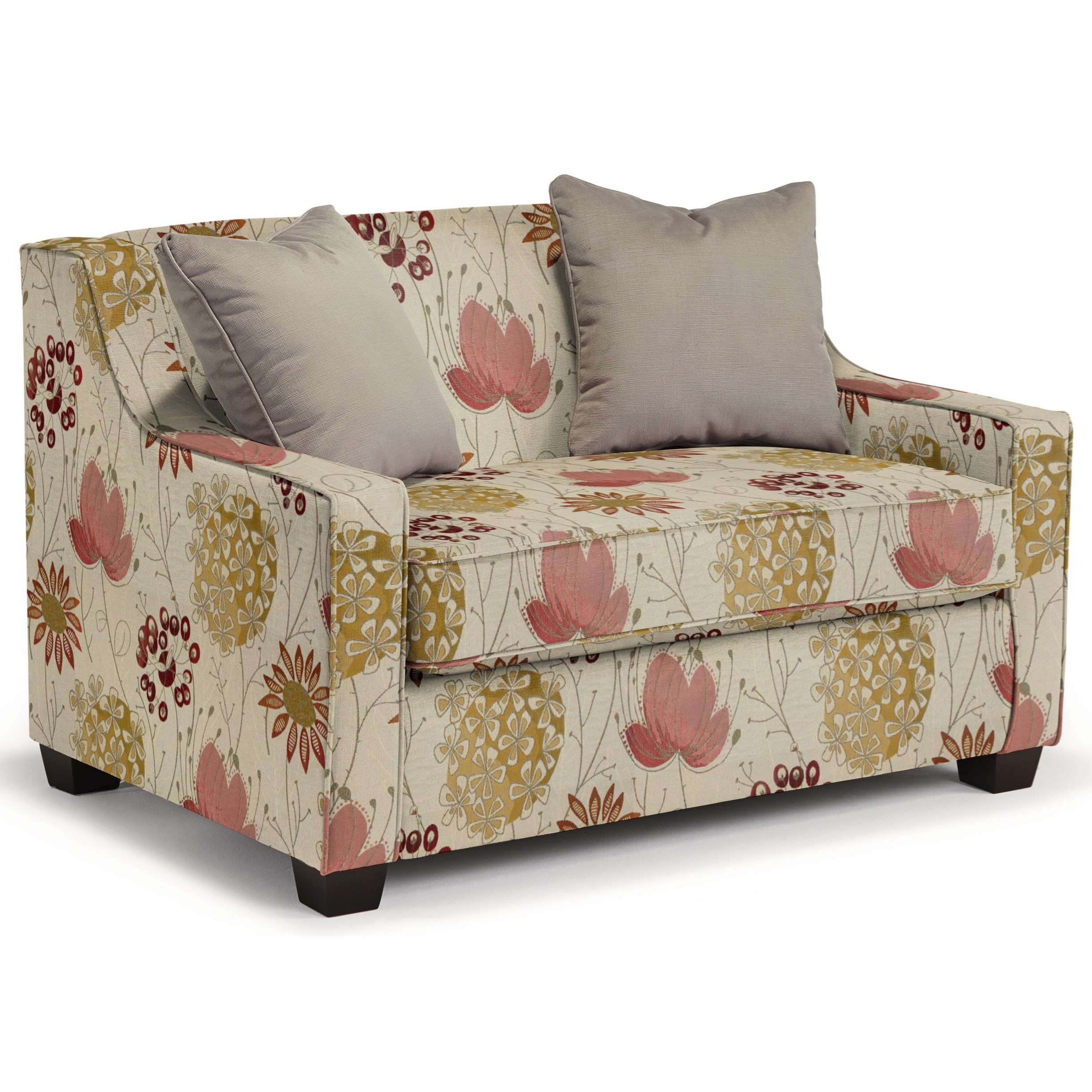 Marinette Twin Air Dream Sleeper Chair by Best Home Furnishings at Lucas Furniture & Mattress