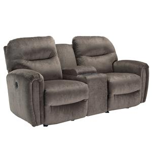 Best Home Furnishings Markson Space Saver Console Loveseat