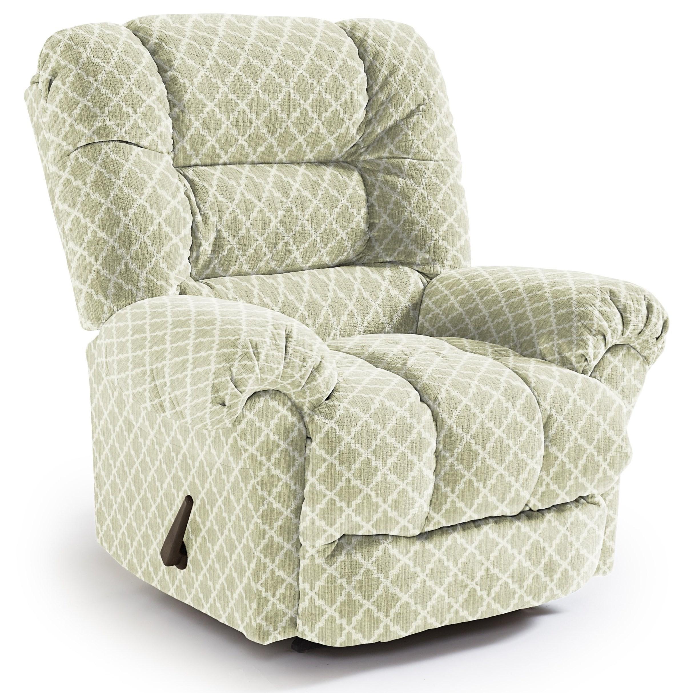 Medium Recliners Seger Swivel Glider Recliner by Best Home Furnishings at Lucas Furniture & Mattress