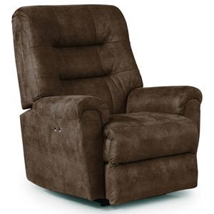 Best Home Furnishings Recliners - Medium Langston Power Space Saver Recliner