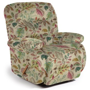 Maddox Rocker Recliner with Line-Tufted Back