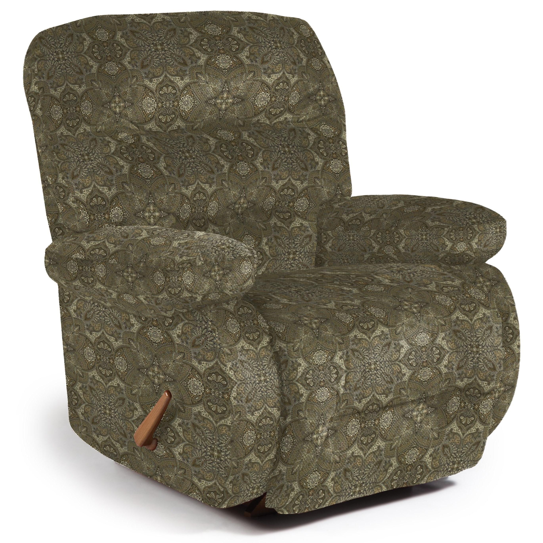 Medium Recliners Maddox Rocker Recliner by Best Home Furnishings at Lucas Furniture & Mattress