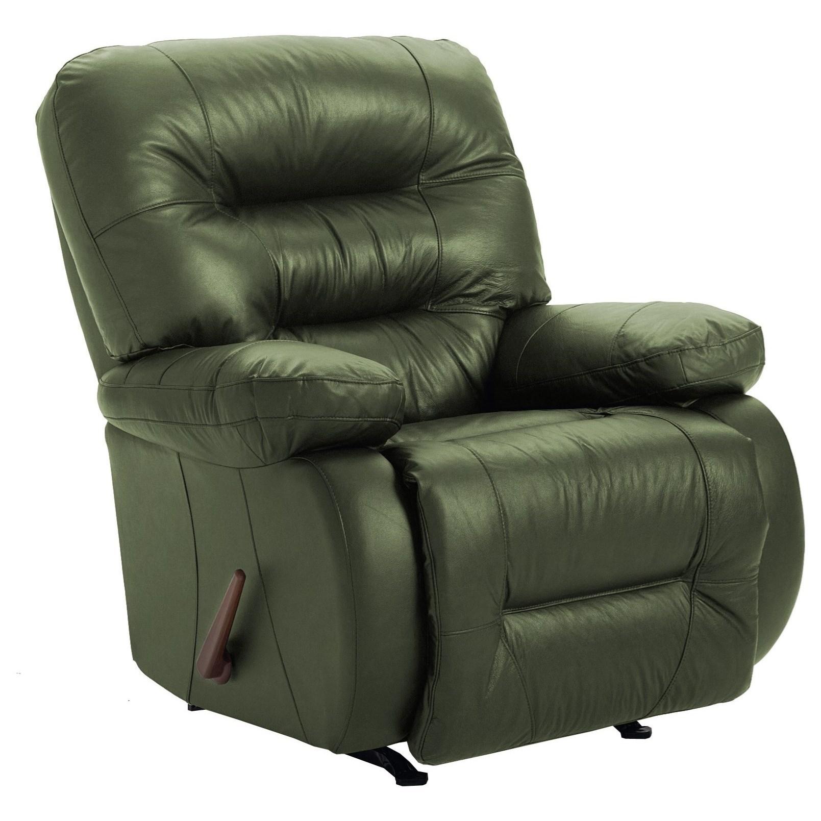 Medium Recliners Maddox Rocker Recliner by Best Home Furnishings at Dunk & Bright Furniture