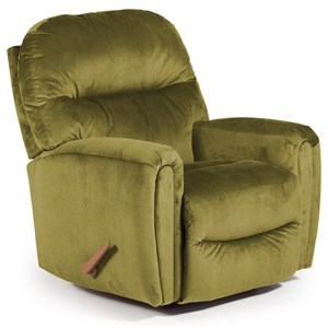 Markson Rocker Recliner with Dome Arms