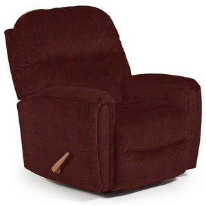 Markson Power Rocker Recliner with Dome Arms