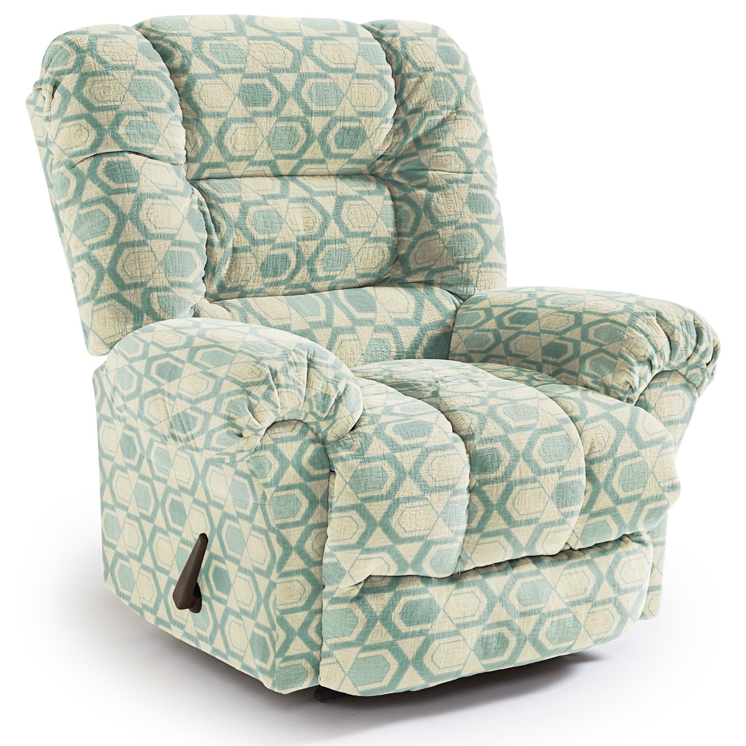 Medium Recliners Seger Wallhugger Recliner by Best Home Furnishings at Lucas Furniture & Mattress