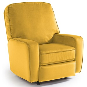 Best Home Furnishings Medium Recliners Bilana Swivel Glider Recliner