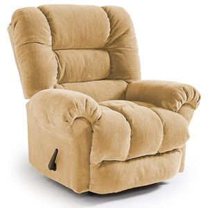 Best Home Furnishings Recliners - Medium Seger Swivel Rocker Recliner
