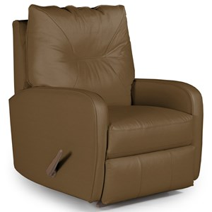 Best Home Furnishings Medium Recliners Ingall Power Rocker Recliner