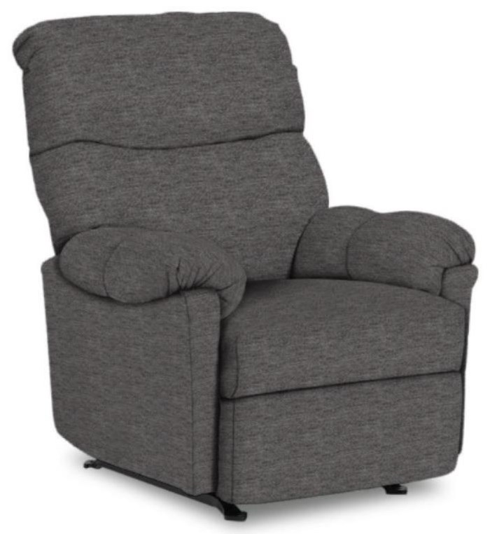 Medium Recliners Balmore Power Wallhugger Recliner by Best Home Furnishings at Stoney Creek Furniture