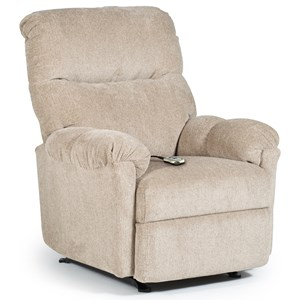 Best Home Furnishings Medium Recliners Balmore Power Wallhugger Recliner