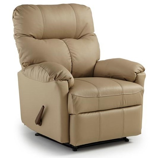 Medium Recliners Picot Rocker Recliner by Best Home Furnishings at Baer's Furniture