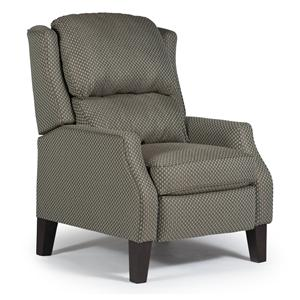 Best Home Furnishings Medium Recliners Pauley Three Way Power Recliner