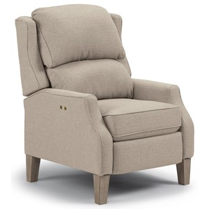 Best Home Furnishings Medium Recliners Pauley Three Way Recliner