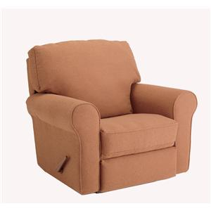 Best Home Furnishings Medium Recliners Irvington Power Rocker Recliner