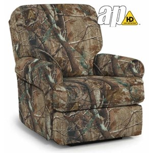 Best Home Furnishings Medium Recliners Tryp Wallhugger Recliner