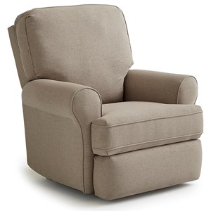 Tryp Wallhugger Recliner with Inside Handle
