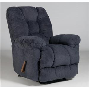 Best Home Furnishings Medium Recliners Orlando Power Rocker Recliner