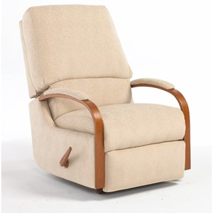 Best Home Furnishings Medium Recliners Pike Wallhugger Recliner