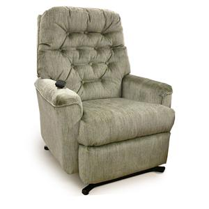 Best Home Furnishings Medium Recliners Mexi Swivel Rocker Recliner