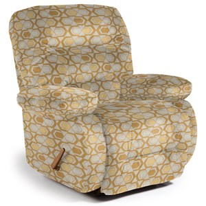 Maddox Space Saver Recliner with Line-Tufted Back