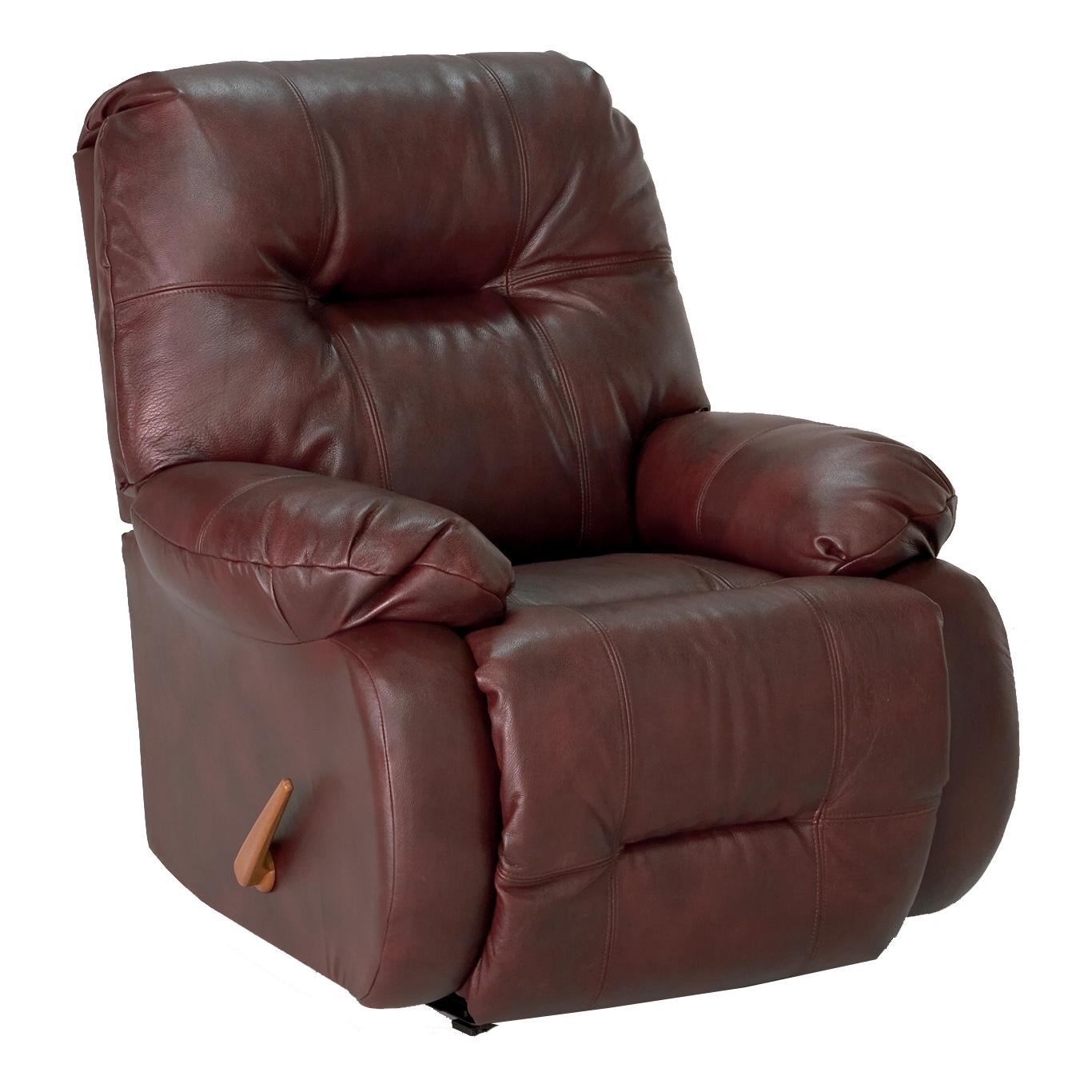 Medium Recliners Power Swivel Glide Recliner by Best Home Furnishings at Baer's Furniture