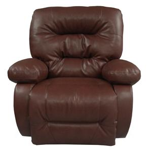 Maddox Swivel Glider Recliner with Line-Tufted Back