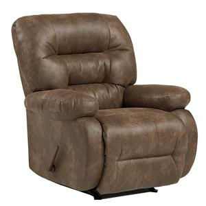 Best Home Furnishings Medium Recliners Maddox Power Rocker Recliner