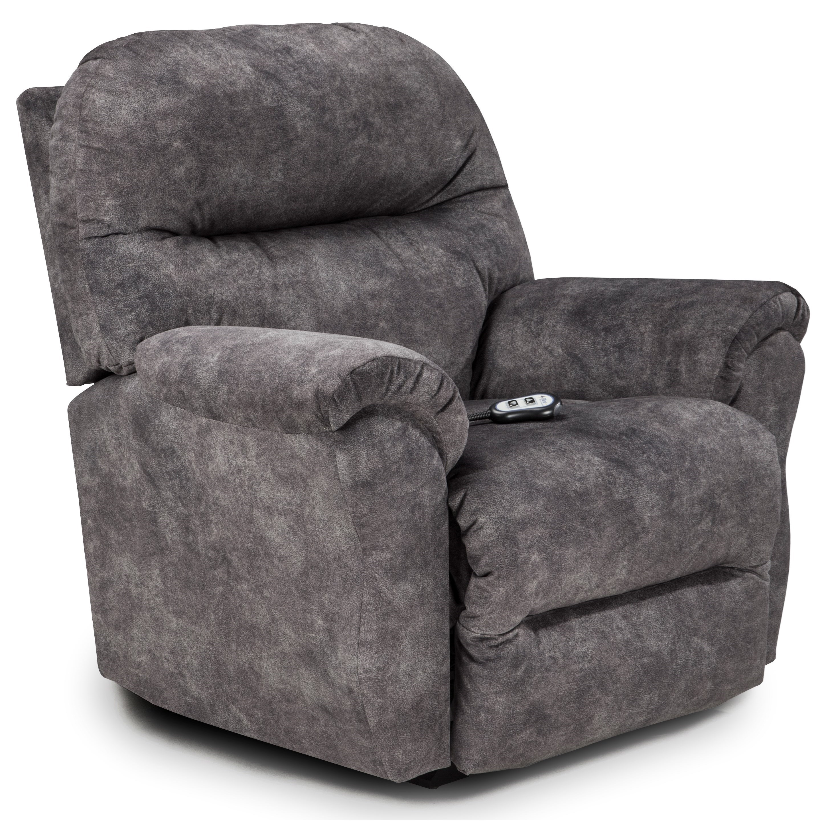 Medium Recliners Bodie Power Wallhugger Recliner by Best Home Furnishings at Baer's Furniture